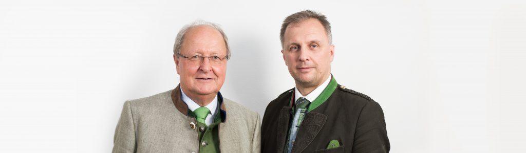 Mag. jur. Josef Nothdurfter und Josef Christian Nothdurfter